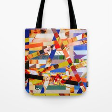 Jacqueline (stripes 7) Tote Bag