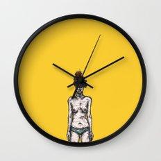 Tumor Face Wall Clock