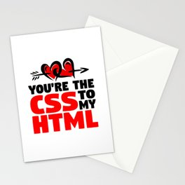 CSS and HTML Stationery Cards