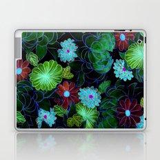 Oriental blossom (night version) Laptop & iPad Skin