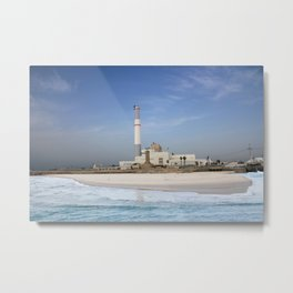 Tel Aviv photo - Reading power station Metal Print
