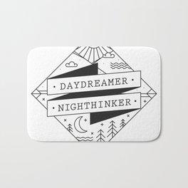 daydreamer nighthinker II Bath Mat