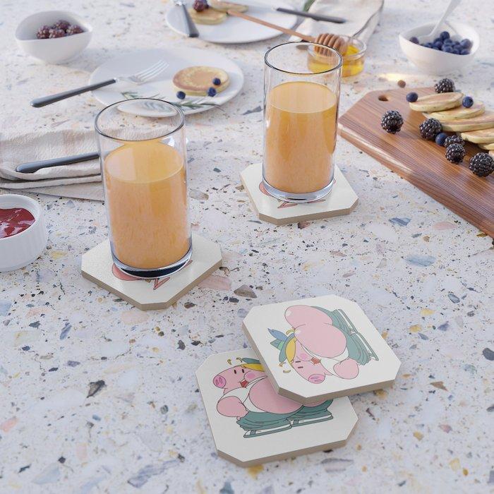 Peepoodo & Strubel Coaster