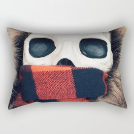 Oh, the weather outside is frightful Rectangular Pillow