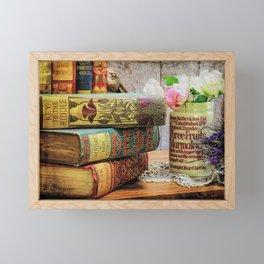 Key To The Riddle Framed Mini Art Print
