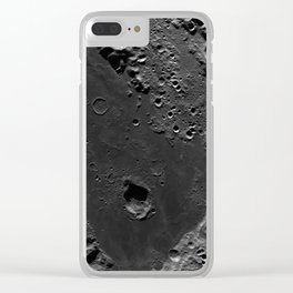 The Dark Side Of The Moon (Mare Moscoviense) Clear iPhone Case
