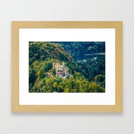 Hohenschwangau Castle Framed Art Print