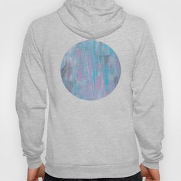pink & blue abstract Hoody