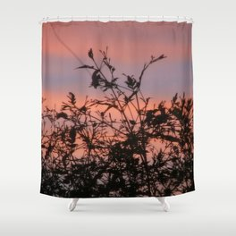 God was busy Shower Curtain