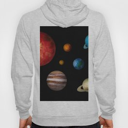 Outer Space Planets Hoody