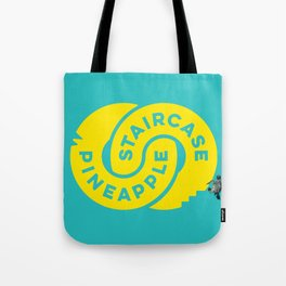 PineappleStaircase | Official Logocolor 2015 in Turquoise/Yellow + Honu Tote Bag