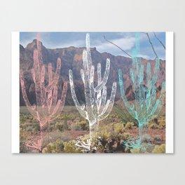 Desert Technitricolor Canvas Print