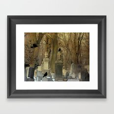 Gothic Splash Framed Art Print