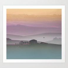 Tuscan Sunrise Art Print