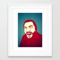 scream Framed Art Prints featuring Scream by FalcaoLucas