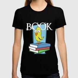 Book (white txt) T-shirt