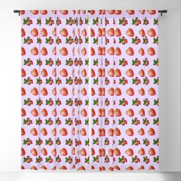 Cool strawberries Blackout Curtain
