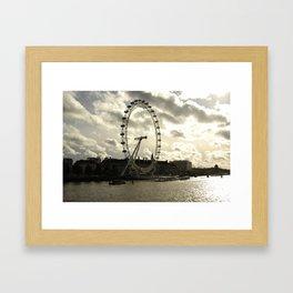 London Eye Landscape Framed Art Print
