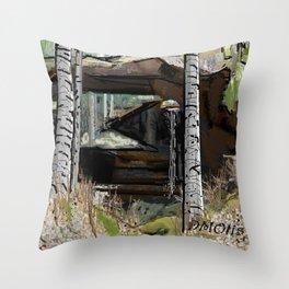 Natural Bridge Alabama Throw Pillow