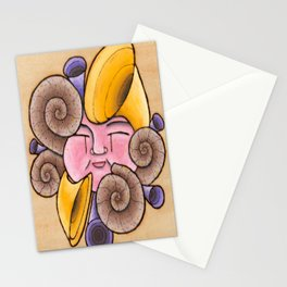 The Siren of delight Stationery Cards