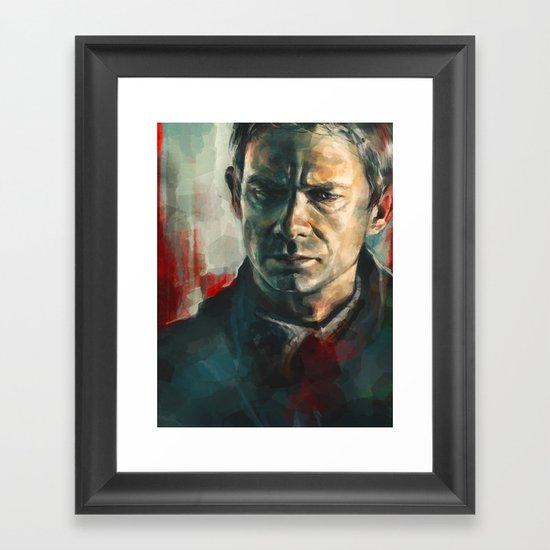 John Watson Framed Art Print