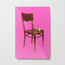 SIT STILL Metal Print