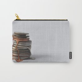 Melting Coins Carry-All Pouch