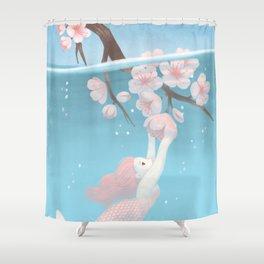 sakura Shower Curtain