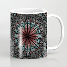 Fantasy flower and petals IV Coffee Mug