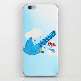 follow me! iPhone Skin