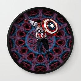 Captain of America Sam Wilson Wall Clock