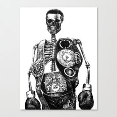 Mike Tyson Canvas Print