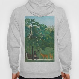 "Henri Rousseau ""The Waterfall"", 1910 Hoody"