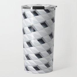 Building Abstract Travel Mug