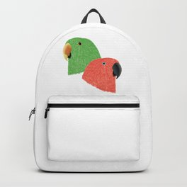 Eclectus Parrots Backpack