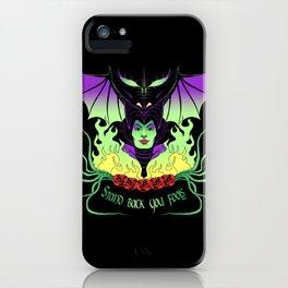 Maleficent iPhone Case