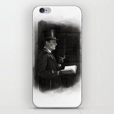 A Contemplative Pause iPhone & iPod Skin