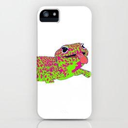 Popart Gecko iPhone Case