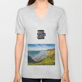 Good vibes only Ocean very Unisex V-Neck