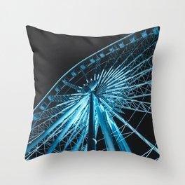 The Sky Wheel in Niagara Falls Throw Pillow