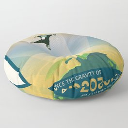 NASA Visions of the Future - Experience the Gravity of HD 40307g Floor Pillow