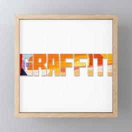 Graffiti Framed Mini Art Print