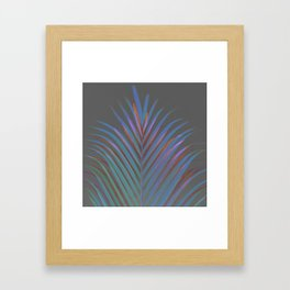 Chic palm / Tropical touch Framed Art Print