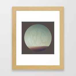 What A Terrible Place Framed Art Print