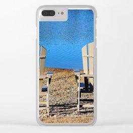 Private Beach Clear iPhone Case