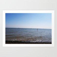 Seaside Shoreline Art Print