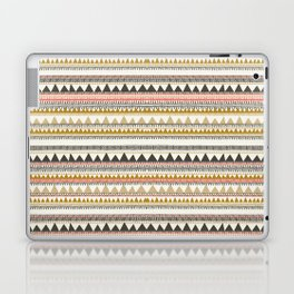 Mountain triangle pattern Laptop & iPad Skin