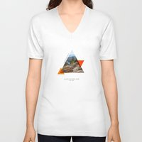 parks V-neck T-shirts featuring National Parks: Acadia by Roadtrippers