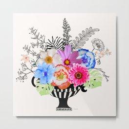 Flowers arranging Metal Print