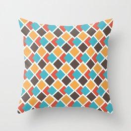 Geometric art deco Throw Pillow
